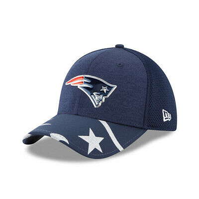 huge discount 47f16 c00e0 New Era NFL NEW ENGLAND PATRIOTS Authentic 39THIRTY Draft 2017 Stretch Fit  Cap N