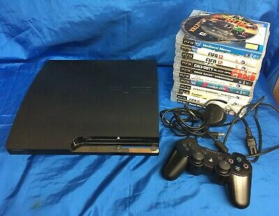 Sony Playstation 3 Console With 13 Games