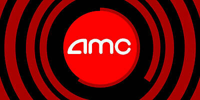 Qty: 1 Gift Certificates for AMC Theaters Black MOVIE TICKET