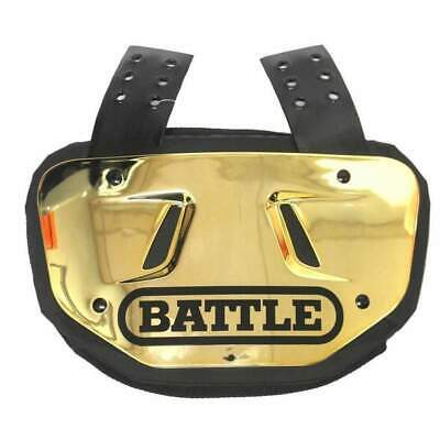 NEW Battle Adult Back Plate Football Chrome All Colors Fits Adult Shoulder Pads