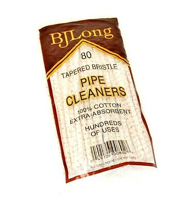 BJ Long B. J. Long's Tapered Bristle Pipe Cleaners 80 Per Pack - 1 Pack