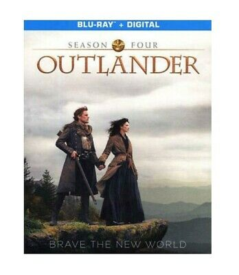 Outlander Season Four Blu-Ray+Digital W/Slipcover Brand New Sealed +Bonus Scenes