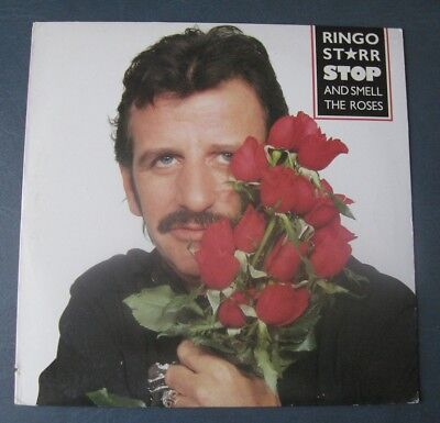 Ringo Starr--Stop And Smell The Roses--1981 Vinyl LP