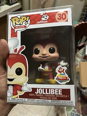 Jollibee Funko POP! Ad Icons Philippines EXCLUSIVE 40th Anniversary US SELLER!!!