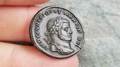 """Nice NGC Roman BI Nummus, Emperor DIOCLETIAN, Graded 5/5 """"CHOICE EXTREMELY FINE"""""""