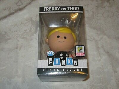 Funko Freddy as Marvel Thor 2015 SDCC Fundays Exclusive Limited Edition Retro