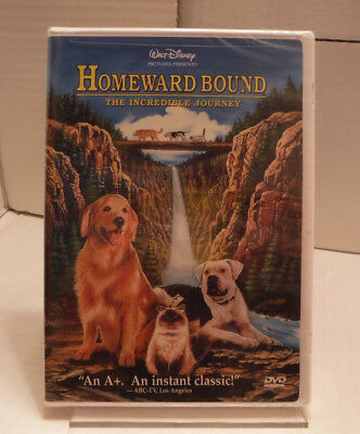 Walt Disney Homeward Bound The Incredible Journey DVD Set New In Shrink wrap!