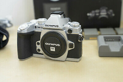 Olympus  OM-D E-M1 16.0 MP Mirrorless Camera Body, Silver, Perfect Condition
