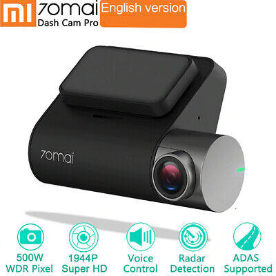 XIAOMI 70 MAI Pro Smart 1080P Car DVR Voice Control Recorder Monitor Dash Cam