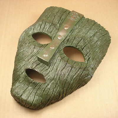 Resin Replica The Mask Loki Mask Movie Prop Memorabilia With Stripe
