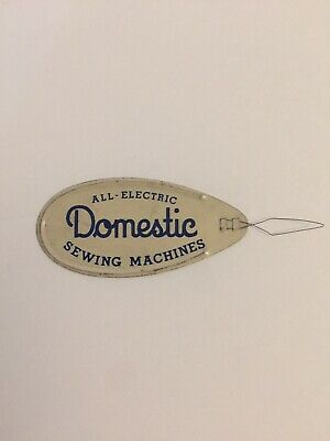 """Vintage Needle Threader - """"Domestic All-Electric Sewing Machines"""" Made in U.S.A."""
