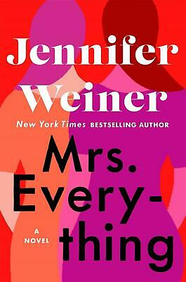 Mrs Everything by Jennifer Weiner Paperback Book Free Shipping!