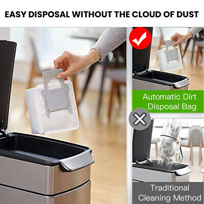 6Pcs Dust Bag Clean Base Robot Automatic Dirt Disposal Bags for iRobot Roomba i7