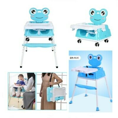 Safety Baby Feeding HighChair Infant Toddler Kids High Seat Table Chair Foldable