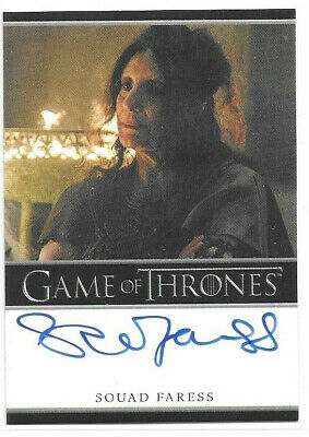 Souad Faress as High Priestess 2019 Game of Thrones Inflexions Auto Autograph