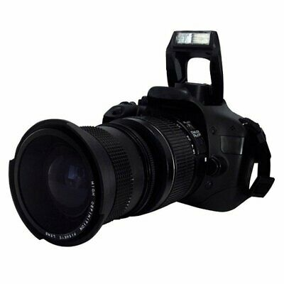 0.35X58MM Camera Super HD Wide Angle Fisheye Lens With Macro for Canon EOS TY