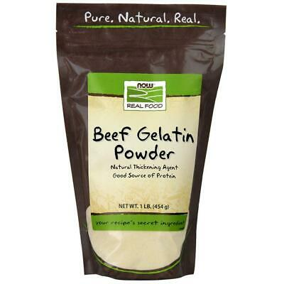 Now Foods Beef Gelatin Natural Powder 1 lb 1 Pound (Pack of 1)