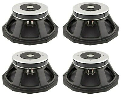 "Precision Devices PD.1850 PD1850 800W 18"" Driver 8 OHMS MKII Four Pack"