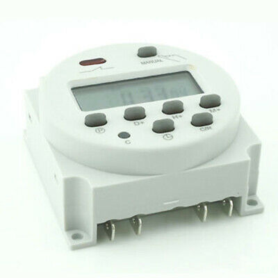 New ♡ Relay Digital Time Electronic Lcd Programmable Daily Mini Switch Power