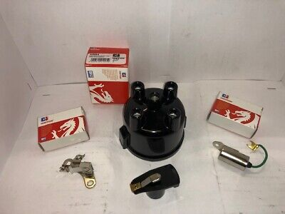Distributor cap,Points,Condenser,Rotor arm Fits Ford OHV 1.1,1.3,1.6