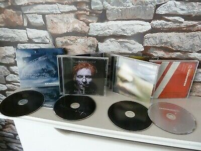 Rammstein Cd Collection : Mutter, Reise Reise, Rosenrot & Sehnsucht Albums