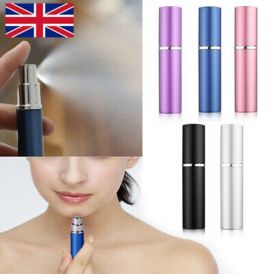 2X Refillable Perfume Atomiser Atomizer Aftershave Travel Spray Miniature Bottle