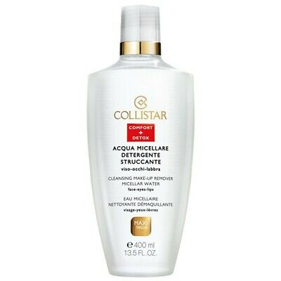 Collistar Cleansing Make-Up Remover Micellar Water 400ml - ACQUA MICELLARE DET.