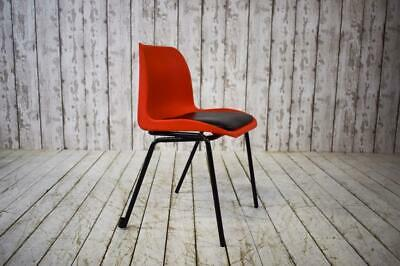 Vintage Industrial Stacking Mid Century Cafe Bar Kitchen Chair (50 Available)