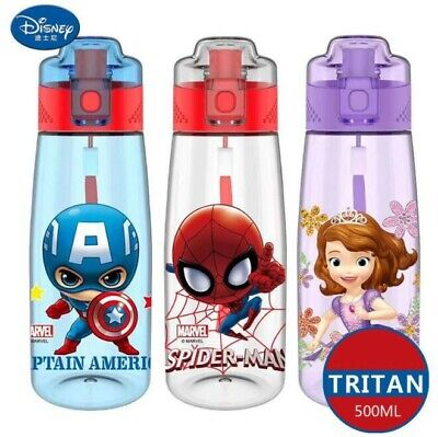 Baby Kid Child 500ml Travel Trip School Disney Direct Drinking Water Bottle Cup
