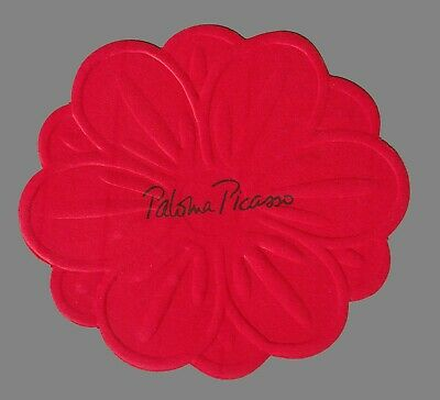 Carte publicitaire - advertising card - Paloma Picasso