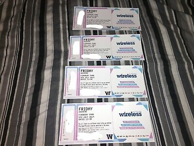 4 x Wireless Festival 2019 - FRIDAY - [FREE DELIVERY]