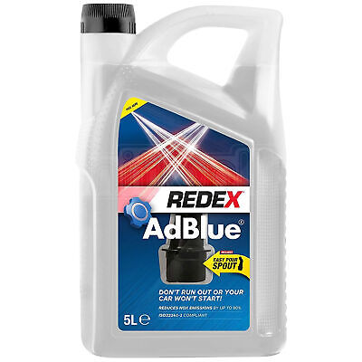 AdBlue Fuel Additive Diesel Engines Universal Add Blue Pouring Spout 5 Litres