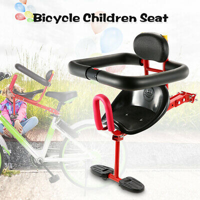 Quick Release Front Mount Child Bicycle Seat Kids Saddle Electric Bicycle L7R8