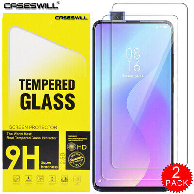For Xiaomi Mi 9T / 9T Pro - Clear HD 9H Tempered Glass Screen Protector [2-PACK]