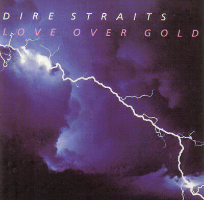 CD-Dire Straits /Love Over Gold 1982/ (red swirl) W. Germany