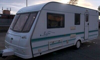 2001 Coachman Pastiche 520/4 4 berth clean and tidy caravan with integrated move