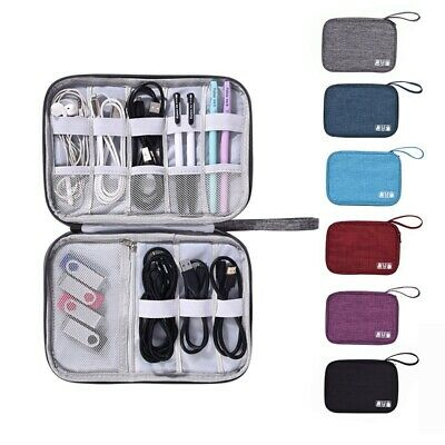 Travel Storage Bag Waterproof Data Cable Organizer Charger Earphone Storage Case