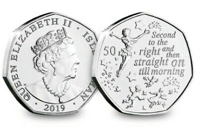 New British Isles 2019 Peter Pan 50p BUNC PRE ORDER UK Coin Hunt Collectable