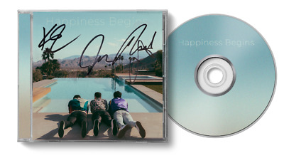 Jonas Brothers Happiness Begins SIGNED ART CARD CD - UK Exclusive sealed