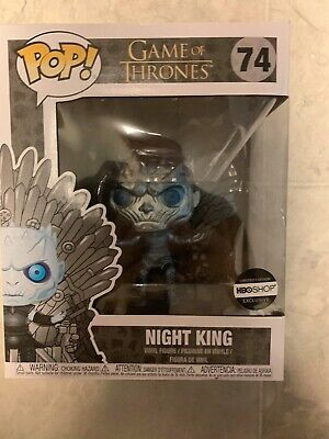 Funko Pop Game Of Thrones METALLIC NIGHT KING ON THRONE HBO Exclusive GOT