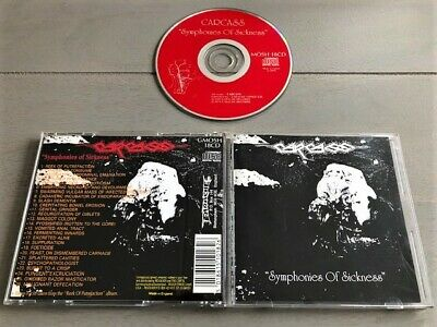 Carcass - Symphonies Of Sickness ORG CD 1989     Napalm Death,Autopsy,Nocturnus