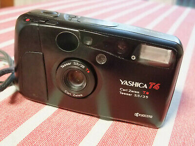 Yashica T4 Carl Zeiss Tessar 3.5/35 -- Film tested