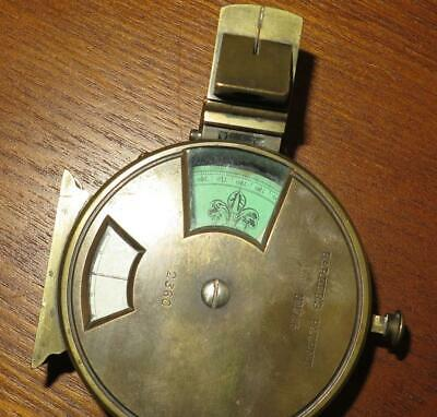 Antique English Compass Barkers Patent No. 1926 - 2360