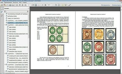 Norway Revenue stamps catalogue catalog 1872 - end 20th century in P.D.F