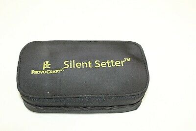 Provocraft Silent Setter Grommet Set in Zippered Storage Bag