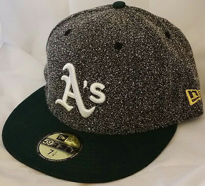 new style eb12e d3294 NWT NEW ERA Oakland ATHLETICS A s 59FIFTY size 7 1 4 baseball fitted cap hat
