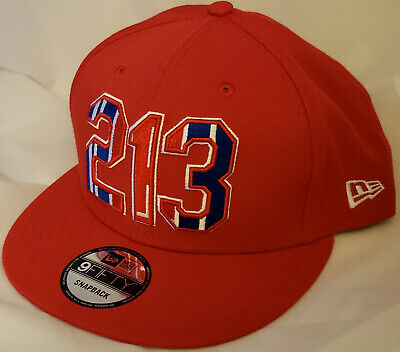 on sale 0aaf8 06400 NWT NEW ERA Los Angeles CLIPPERS 213 red 9FIFTY SNAPBACK cap hat basketball  nba