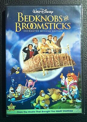Bedknobs And Broomsticks - Enchanted Musical Edition (DVD, 2009) BRAND NEW