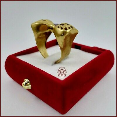 Fantastic, Ring Bronze With Stone Extremely Beautiful Jewelry Handmade For Women