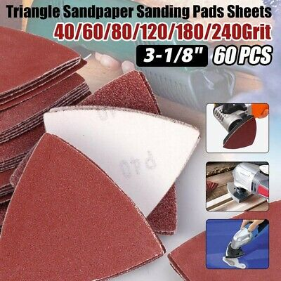 Sanding Paper Assorted Sandpaper Oscillating Multi-tool Alumina abrasive Durable